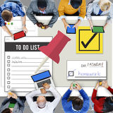 To Do List Time Management Concept Stock Image