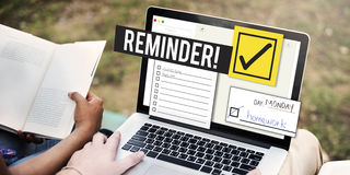 To Do List Time Management Reminder Prioritize Concept Stock Photo
