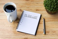 To Do List Stock Image