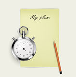 To do list vector illustration Stock Photos