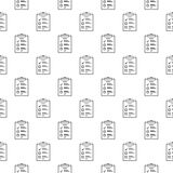 To do list vector outline concept seamless pattern. To do list vector outline seamless pattern or background Royalty Free Stock Photos