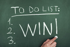To do list win Stock Image