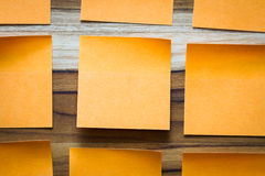 To do notes Royalty Free Stock Photography