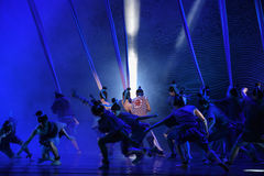 "To do something regardless of personal safty-Dance drama ""The Dream of Maritime Silk Road"" Stock Photos"