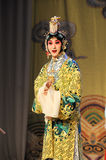 To dress up to be a women:Beijing Opera-Farewell to my concubine Royalty Free Stock Photography