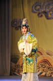 To dress up to be a women:Beijing Opera-Farewell to my concubine Stock Photos