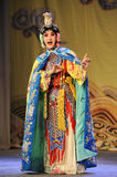To dress up to be a women:Beijing Opera-Farewell to my concubine Stock Photography