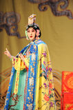 To dress up to be a women:Beijing Opera-Farewell to my concubine. Farewell to My Concubine is the art of Beijing Opera master Mei Lanfang performances of the Mei Royalty Free Stock Image