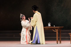 "To drink alcohol-The third act Male Yellow Wine-Kunqu Opera""Madame White Snake"" Stock Photo"