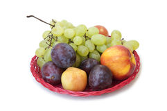 To eat healthy: summer fruits Stock Image