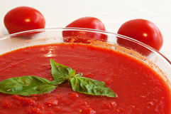 To eat healthy: tomatoes Royalty Free Stock Photos