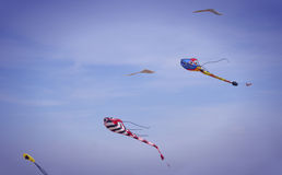 To Fly a kite Stock Photography
