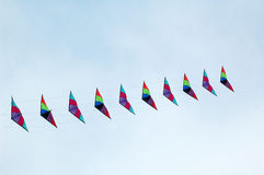 To fly a kite Royalty Free Stock Images