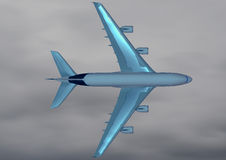 To fly. Modern aircraft over the clouds Stock Images