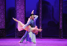 To forget about one's own-The second act of dance drama-Shawan events of the past. Guangdong Shawan Town is the hometown of ballet music, the past focuses on the Royalty Free Stock Image