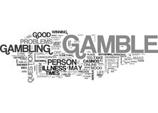 When To Gamble And When Not To Gamble Word Cloud Stock Photos