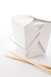 To-Go Box. Chinese To-Go Box close up shot Stock Photos