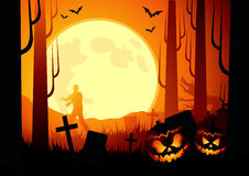 tło Halloween Zdjęcie Stock