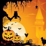 tło Halloween Obrazy Royalty Free