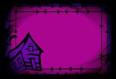 tło hallowen purpury Obrazy Stock