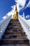 To heaven. This is a monastery in Phichit. It is located in the north of Thailand royalty free stock photography