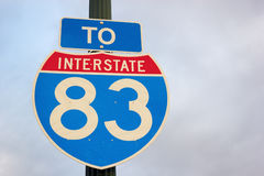 To highway 83 Royalty Free Stock Images