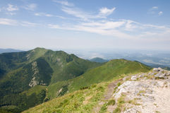 To hike. The hike in Mala Fatra Royalty Free Stock Photography