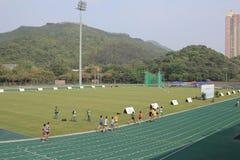 6to Hong Kong Games en la tierra de deporte del tko Imágenes de archivo libres de regalías