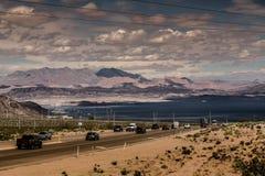 To Hoover Dam Stock Photos