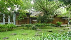 To jest budynek zostać muzeum utrzymuje swój Japońskiego stylu budynek, Yilan, Tajwan zdjęcie wideo