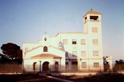 TO JEST klasztor BLISKO miasta ALMERIA, HISZPANIA W 1965 Obrazy Stock