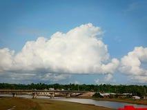 to jest nasz Bangladesz to jest blisko Rohingya obozem w Cox& x27; s bazar Fotografia Stock