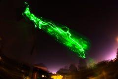 Dziwaczny Ligt łapiący w niebie Zdjęcie Royalty Free