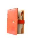 Pomarańczowa książka Zdjęcia Stock