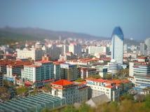 To jest Weihai miasto fotografia stock