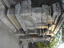 TO JEST wizerunku YAPAHUWA skały PIĘKNY forteca SRI LANKA obraz stock