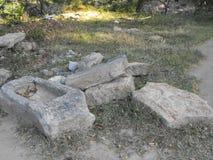 TO JEST wizerunku YAPAHUWA skały PIĘKNY forteca SRI LANKA fotografia royalty free