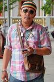 To jest wyświęcenia ceremonia i Tajlandzki kultura, kamrat Obrazy Royalty Free