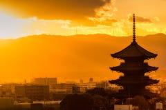 To-ji temple, Kyoto, Japan Royalty Free Stock Photo