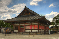 To-ji Worship Hall. Hall at To-ji in Kyoto, Japan Stock Images