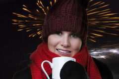 To keep warm Royalty Free Stock Image