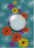 tło kwiat Zdjęcie Royalty Free