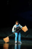 To lay down the burden- Jiangxi opera a steelyard Royalty Free Stock Photos