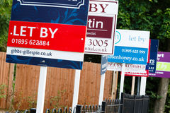 To let sign UK Stock Images