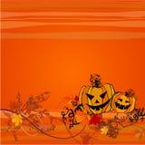 tło śliczny Halloween Zdjęcia Royalty Free