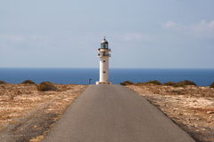 To the lighthouse Royalty Free Stock Images