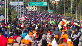 35to maratón de Estambul Eurasia Fotos de archivo
