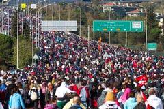 35to maratón de Estambul Eurasia Imágenes de archivo libres de regalías