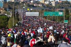 35to maratón de Estambul Eurasia Imagen de archivo