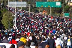 35to maratón de Estambul Eurasia Fotos de archivo libres de regalías